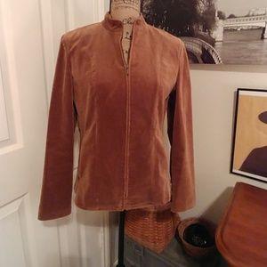 Corduroy Zip-up Jacket-WINTER CLEARANCE!!$